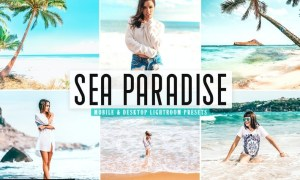 Sea Paradise Mobile & Desktop Lightroom Presets
