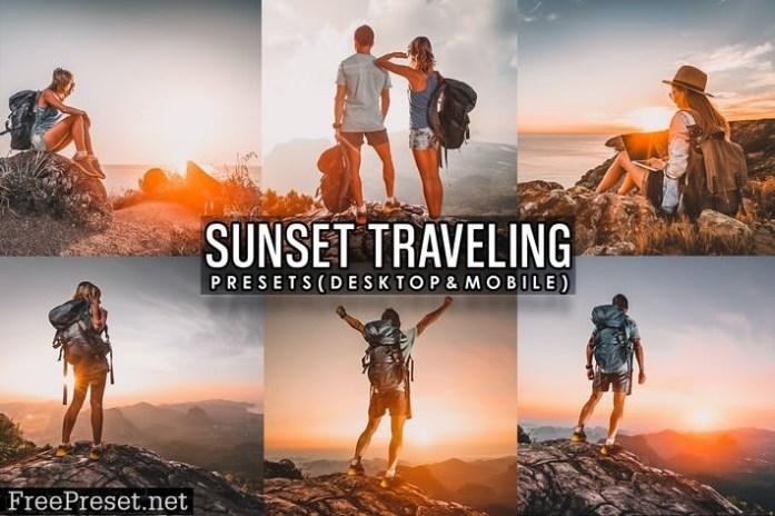 Sunset Traveling Lightroom Presets