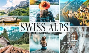 Swiss Alps Mobile & Desktop Lightroom Presets