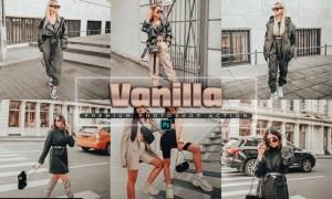 Vanilla Photoshop Action MJTLRSY