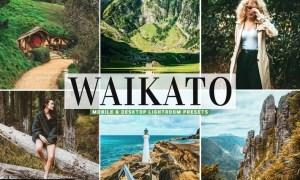 Waikato Mobile & Desktop Lightroom Presets