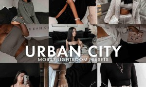 5 URBAN CITY LIGHTROOM PRESET 5277226