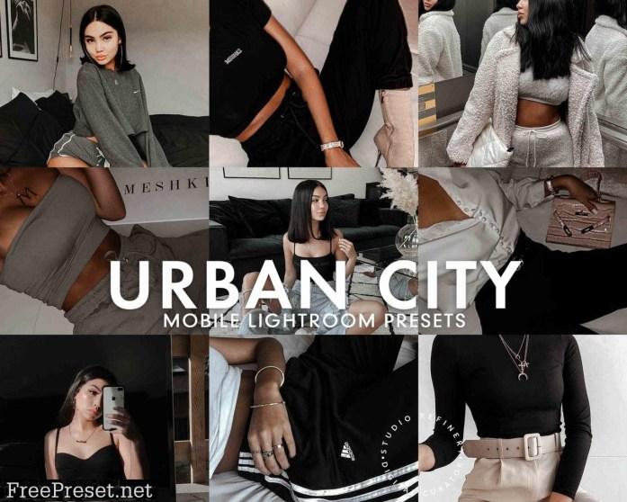 5 URBAN CITY LIGHTROOM PRESET 5277226