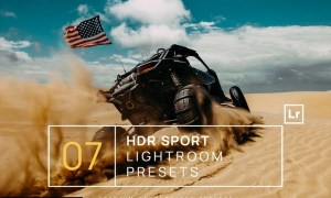 7 HDR Sports Lightroom Presets + Mobile