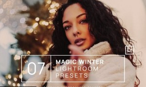 7 Magic Winter Lightroom Presets + Mobile