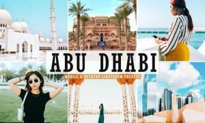 Abu Dhabi Mobile & Desktop Lightroom Presets