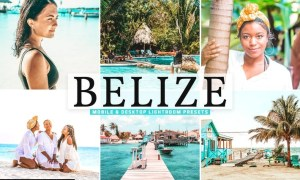 Belize Mobile & Desktop Lightroom Presets