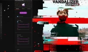 Glitch Vandalizer - Photoshop Plugin 3LTEKB9