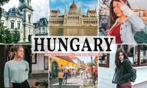 Hungary Mobile & Desktop Lightroom Presets