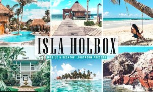 Isla Holbox Mobile & Desktop Lightroom Presets