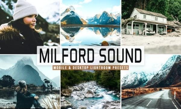 Milford Sound Mobile & Desktop Lightroom Presets