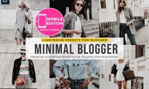 Minimal blogger Lightroom Presets
