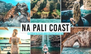 Na Pali Coast Mobile & Desktop Lightroom Presets