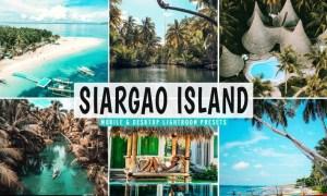 Siargao Island Mobile & Desktop Lightroom Presets