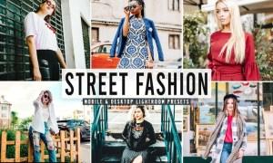 Street Fashion Mobile & Desktop Lightroom Presets