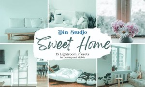 Sweet Home Lightroom Presets