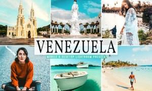 Venezuela Mobile & Desktop Lightroom Presets