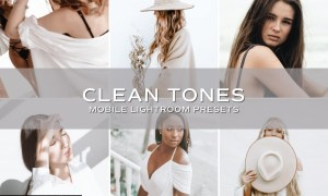 5 Clean Tones Lightroom Presets 5701167