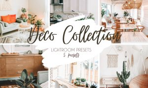 5 Presets Lightroom Déco Bundle 5444519
