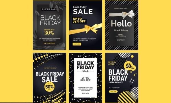 Black Friday Sale Banners VSR5SBE