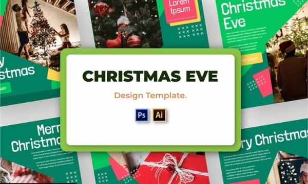 Christmas Social Media Template 9TXBHF9