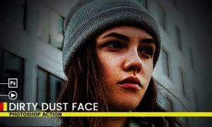 Dirty dust | PSD action Z8NKHCU