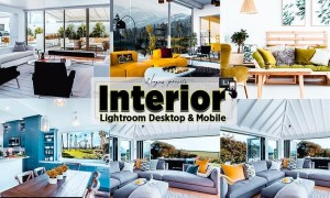 Interior Home Lightroom Presets Mobile & PC