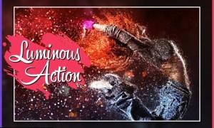Luminous GIF Animated CS4+ Photoshop Action UV7MMBH