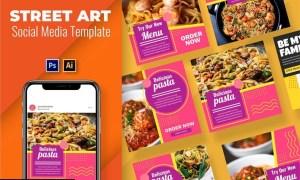 Pasta Vol3 Social Media Template N892466