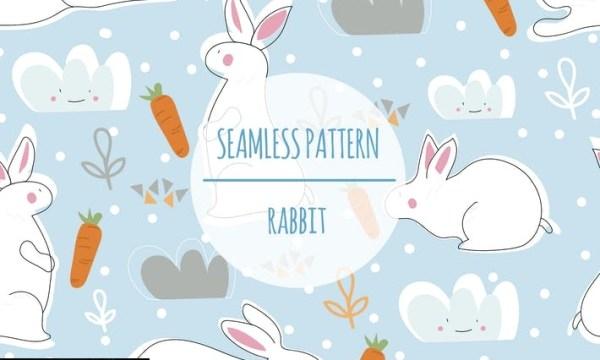 Rabbit – Seamless Pattern YN7WSVG