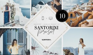 Santorini Lightroom Presets Bundle 5251203