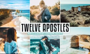 Twelve Apostles Mobile & Desktop Lightroom Presets