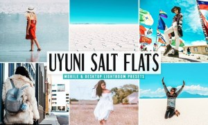 Uyuni Salt Flats Pro Lightroom Presets Pack