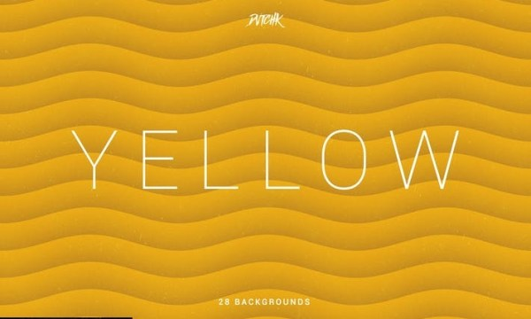 Yellow | Soft Abstract Wavy Backgrounds JHWN3ND