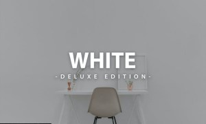 Clean White   For Mobile and Desktop