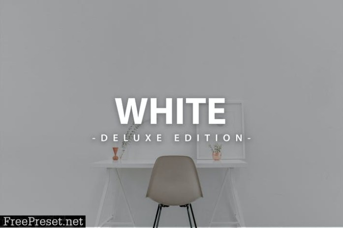 Clean White | For Mobile and Desktop