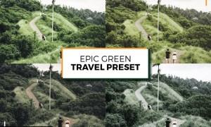Epic Green Travel Preset
