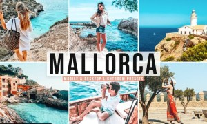 Mallorca Mobile & Desktop Lightroom Presets