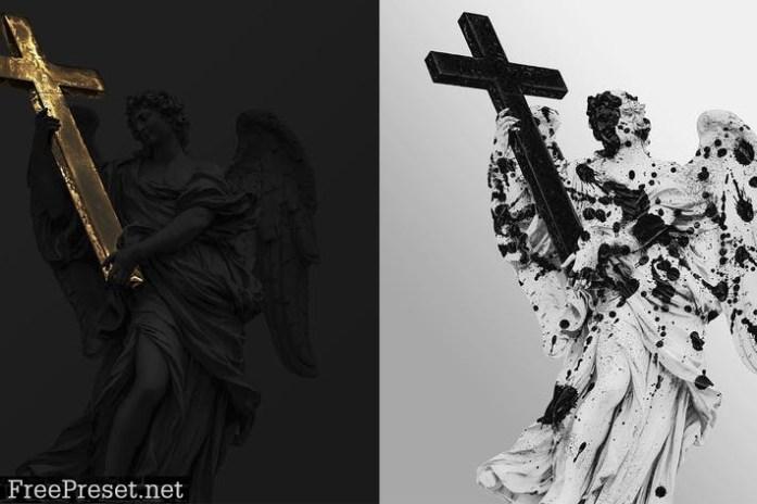 Mixed Texture Photo Effect JEBPKRR