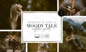 MOODY TALE - Lightroom Presets 5667429