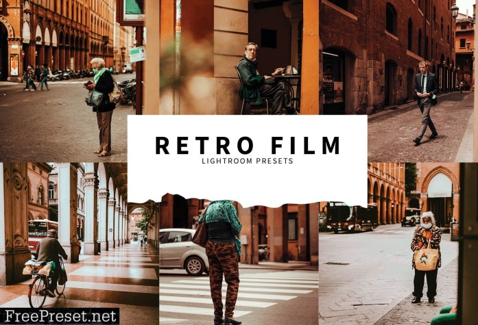 10 Retro Film Lightroom Presets 5787570