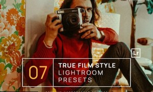 7 True Film Style Lightroom Presets + Mobile