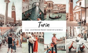 08 Turin Mobile & Lightroom Presets 5980387