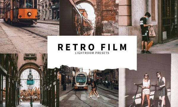 10 Retro Film Lightroom Presets 5787567