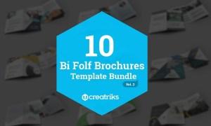 50 Bi-Fold Brochures Bundle 4268003