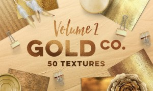 50 Gold Textures YP3T96