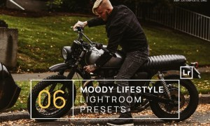 6 Moody Lifestyle Lightroom Presets + Mobile
