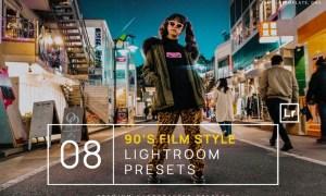 90s Film Style Lightroom Presets + Mobile