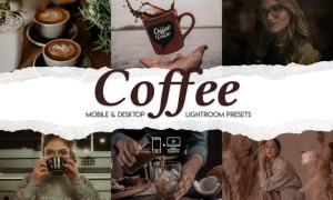 Coffee - 15 Premium Lightroom Presets