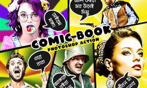 Comic Book Art Effect 5891676